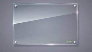 Демонстрационная доска Cactus CS-GBD-65x100-TR (65x100 см.) маркерная, стеклянная, прозрачная
